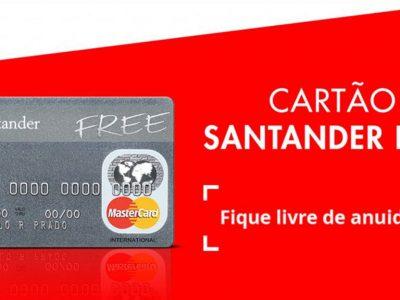 Nome sujo na praça? Banco Santander disponibiliza opção de cartão